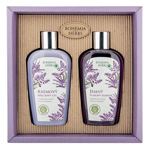 Levandulová kosmetická sada - Gel a šampon