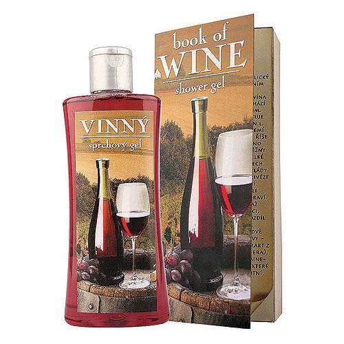 Dárkový vinný sprchový gel 250 ml - Book Of Wine