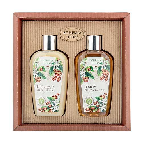 Kosmetická sada kofein - Sprchový gel a šampon