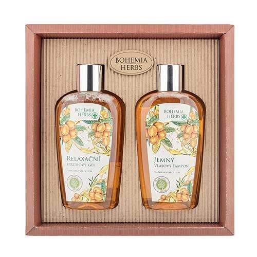 Kosmetická sada arganový olej - Sprchový gel a šampon