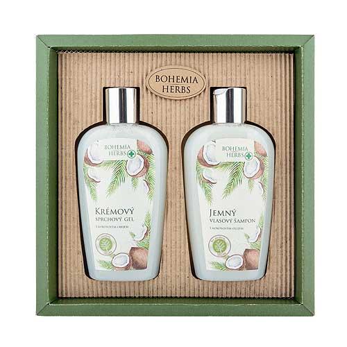 Kosmetická sada kokos - Sprchový gel a šampon