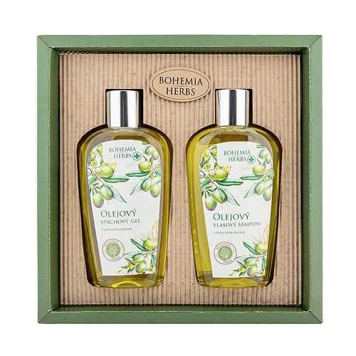 Kosmetická sada oliva - Sprchový gel a šampon