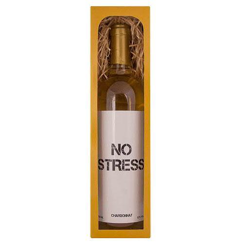 Dárkové bílé víno 0,75 l Chardonnay – No Stress