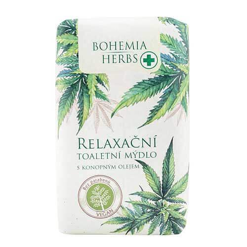 Konopné toaletní mýdlo 100 g - Cannabis