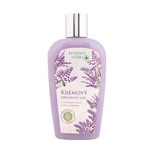 Krémový sprchový gel 250 ml - Levandule