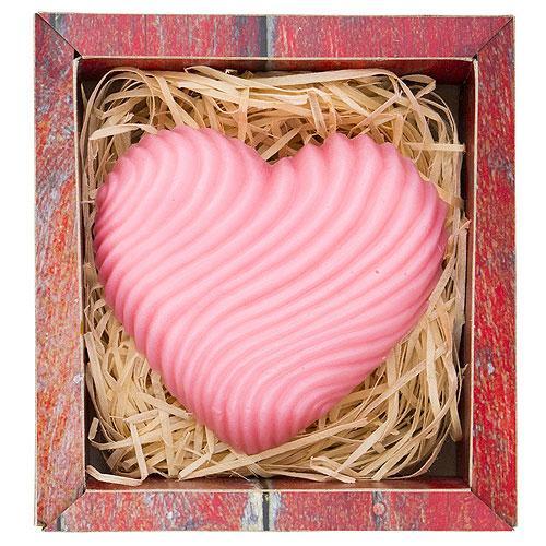 Ručně vyráběné mýdlo 120 g - Srdce