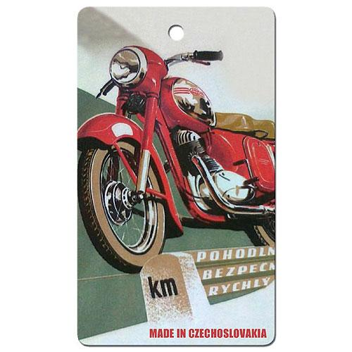 Vůně do auta - Motorka - Made in Czechoslovakia