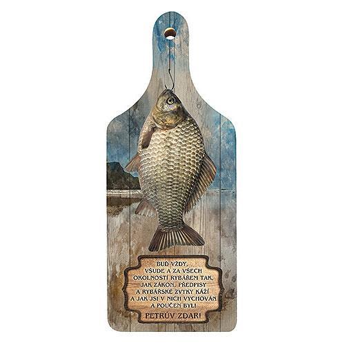 Dekorační kuchyňské prkénko - Pro rybáře