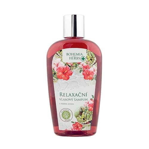 Vlasový šampon 250 ml - S hadím jedem