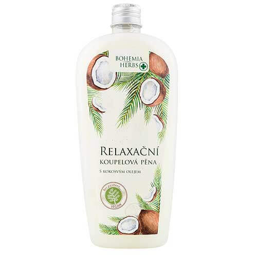 Pěna do koupele 500 ml - S kokosovým olejem