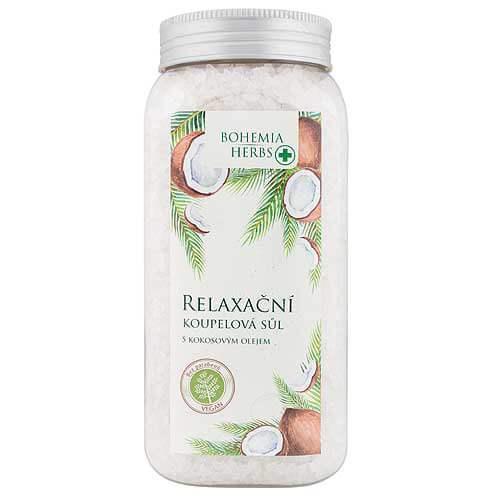 Sůl do koupele 900 g - S kokosovým olejem