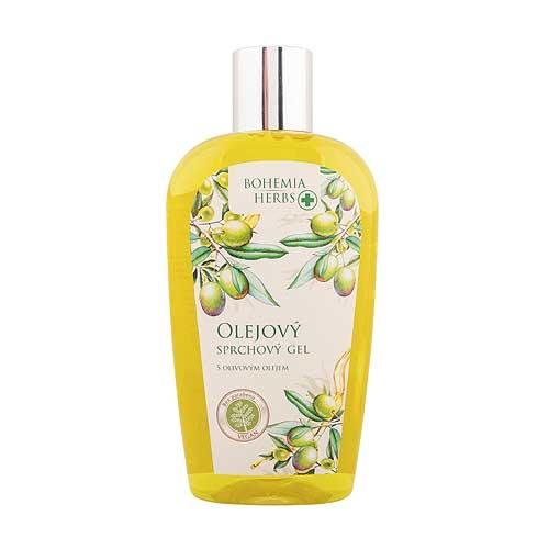 Olejový sprchový gel 250 ml - Oliva