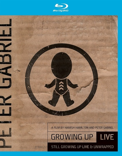Peter Gabriel - Growing Up / Still Growing Up-Live Blu-Ray/DVD