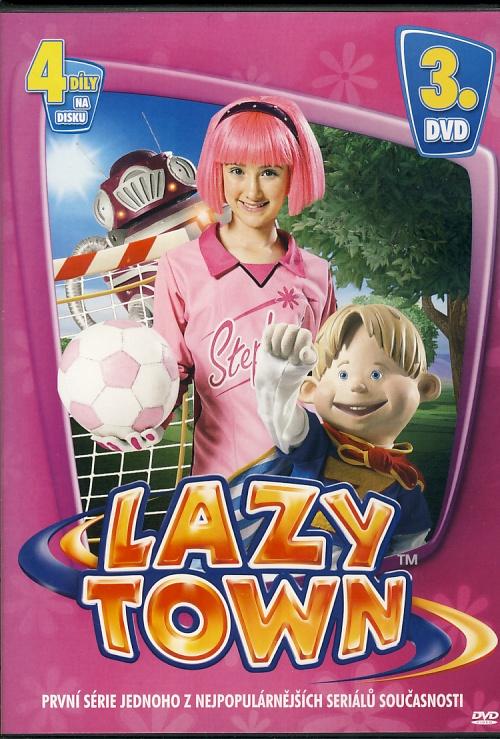 Lazy Town 3. DVD