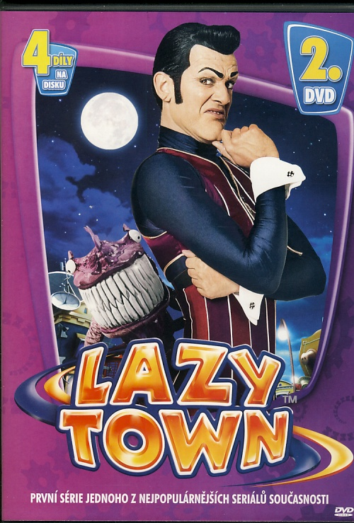 Lazy Town 2. DVD