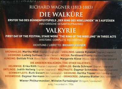 Richard Wagner -  Die Walküre 3CD