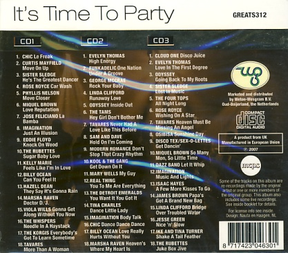 It´s Time To Party 3CD