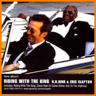 Eric Clapton - Riding With The King CD