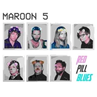 Maroon 5 - Red Pill Blues 2LP