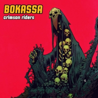 Bokassa - Crimson Riders LP