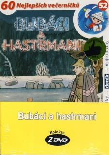 Bubáci a hastrmani 3DVD