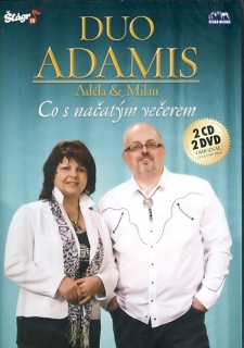 Duo Adamis - Co s načatým večerem 2CD/2DVD