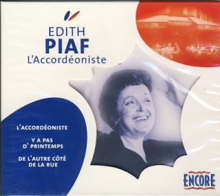 Edith Piaf - L´Accordéoniste CD