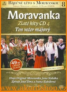 Moravanka - Ten večer májový CD