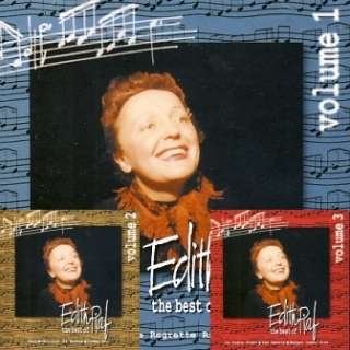 Edith Piaf - Best Of 3CD