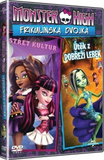 Monster High: Frikulínská dvojka DVD