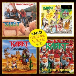 Kabát - Original Albums 1  4CD