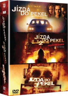 Jízda do pekel 1-3  DVD