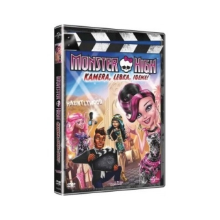 Monster High: Kamera, Lebka, Jedem! DVD