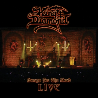 King Diamond - Songs For The Dead Alive 2DVD/CD