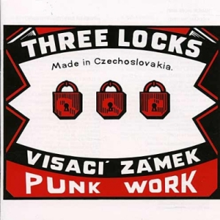 Visací zámek - Three Locks LP