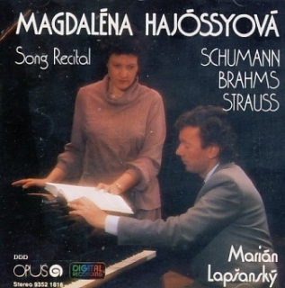Magdaléna Hajóssyová - Song Recital CD