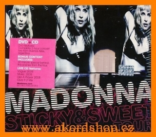Madonna - Sticky & Sweet Tour DVD/CD