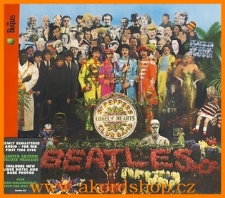 Beatles - Sgt. Peppeŕs Lonely Hearts Club Band CD