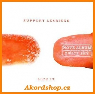 Support Lesbiens - Lick It CD
