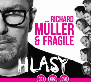 Richard Müller - Hlasy 2 2CD/DVD
