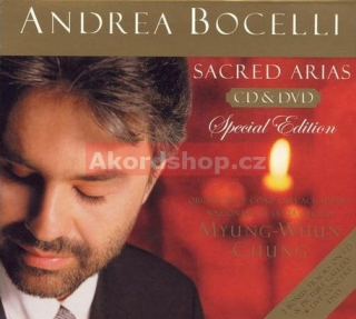 Andrea Bocelli - Sacred Arias CD/DVD