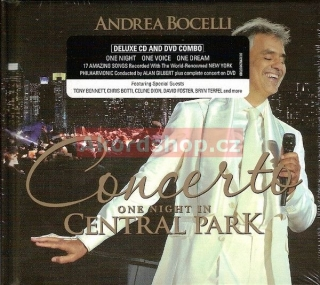Andrea Bocelli - One Night In Central CD/DVD