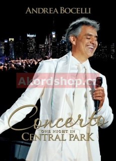 Andrea Bocelli - Live In Central Park DVD