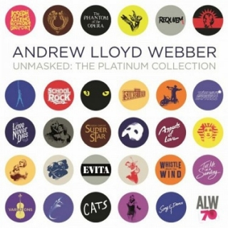 Andrew Lloyd Webber - Platinum Collection ( Deluxe) 4CD/kniha