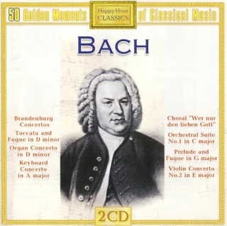 J.S. Bach 50 Golden Moments Of Classical Music 2CD